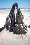 """Shifting Sand"" 3rd place at the Texas Sand Fest 2000 in Port Aransas Texas"